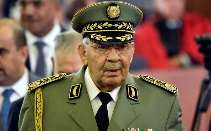 Alžeeria kindral Ahmed Gaid Salah (1940-2019).