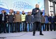 Открытие железнодорожного сообщения по Крымскому мосту.