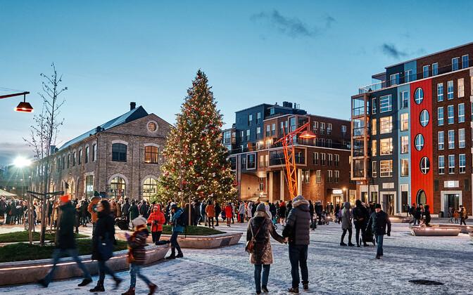 Погода Эстонию снегом не балует. Иллюстративная фотография.