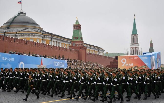 9. mai paraad Moskvas.