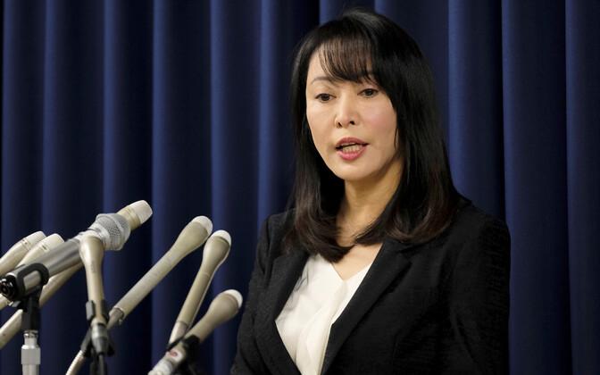 Jaapani siseminister Masako Mori.