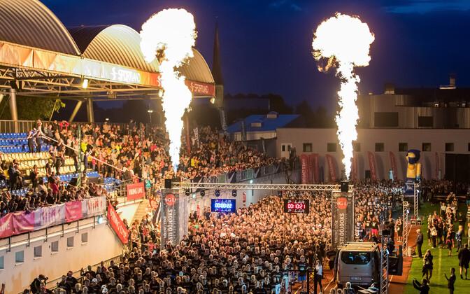 2019. aasta ööjooksu start