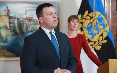 Peaminister Jüri Ratas ja president Kersti Kaljulaid