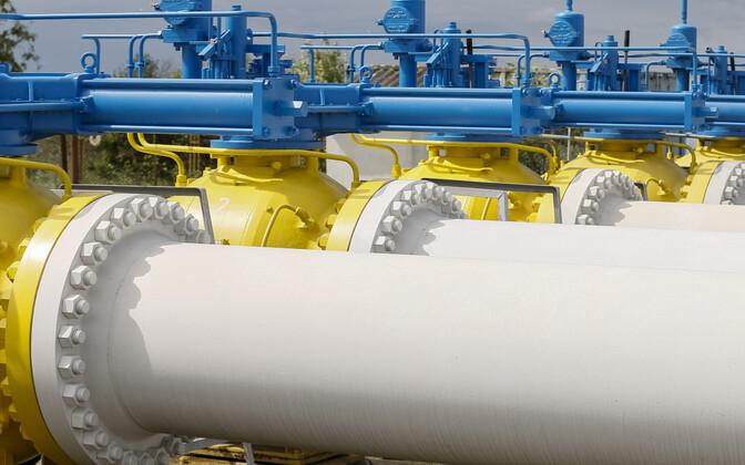 Gaasitorud Ukrainas.