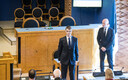 Президент Керсти Кальюлайд ушла из зала во время принятия присяги Марти Куузиком.