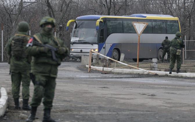 Vangidevahetus Donbassis 2017. aasta detsembris.