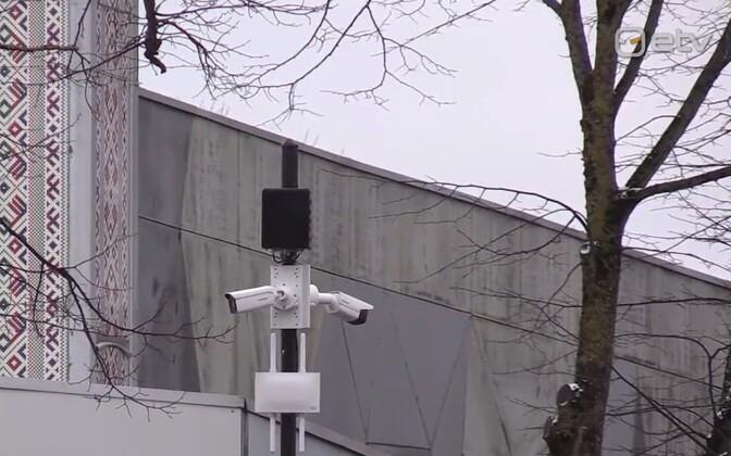 Kuressaare security camera.