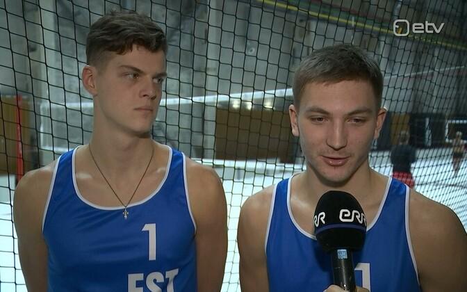 Dmitri Korotkov ja Timo Lõhmus
