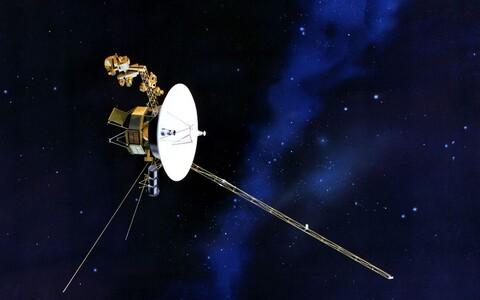 Voyager 2 kunstniku nägemuses.