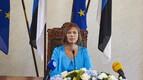 President Kersti Kaljulaid, otseülekanne presidendivalimistest Riigikogus. 2016