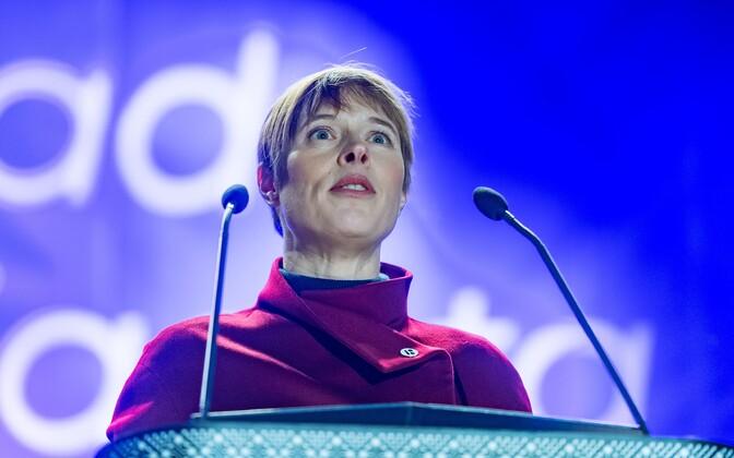 President of the Republic of Estonia Kersti Kaljulaid.