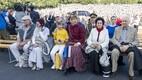 Vabariigi President Kersti Kaljulaid pojaga, proua Ingrid Rüütel, president Arnold Rüütel, avakontsert