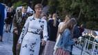 Eesti Vabariigi presidendi Kersti Kaljulaidi vastuvõtt Kadrioru lossi roosiaias. 2019