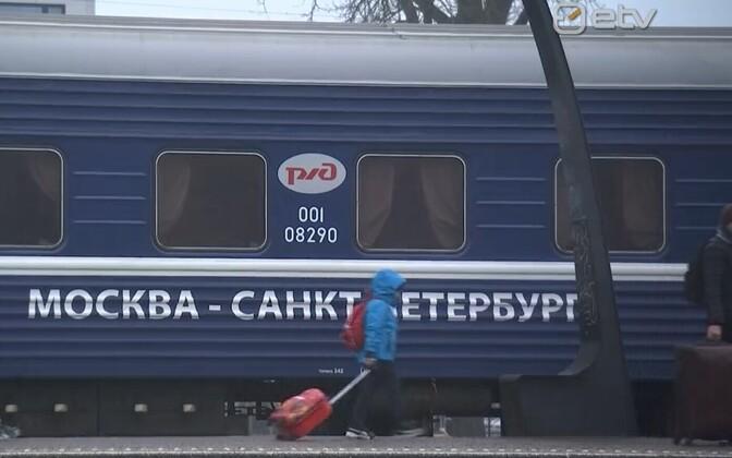 Moskva-Peterburi-Tallinn rong.