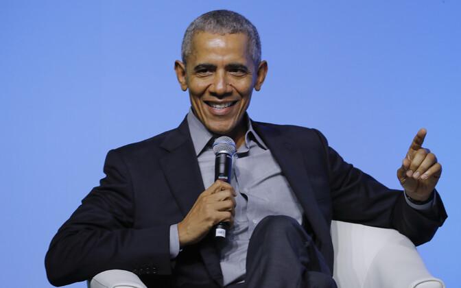 USA endine president Barack Obama.