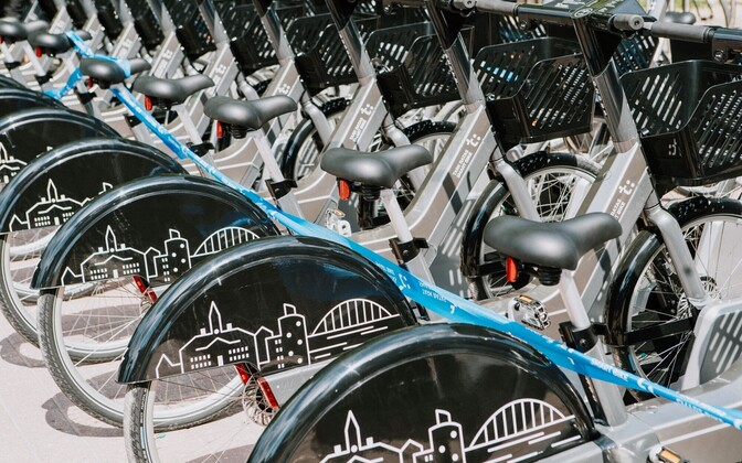The Smart Bike Share system in Tartu was launched in 2019.