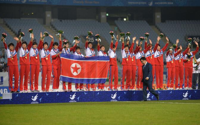 Põhja-Korea naiste jalgpallikoondis