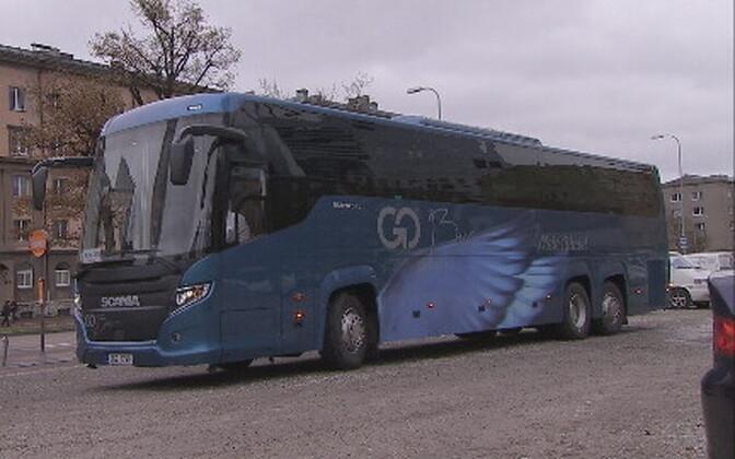 Автобус компании Go Bus.