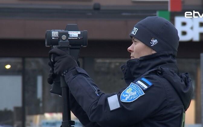 Полиция Эстонии делает свою работу.