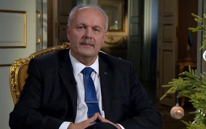 President of the Riigikogu Henn Põlluaas