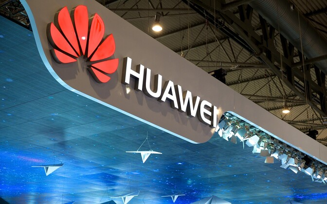 Huawei logo (picture is illustrative).