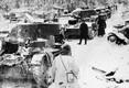Purustatud Nõukogude tankid ja soomukid pärast kuulsat Suomussalmi lahingut, kus soomlased hävitasid Punaarmee 44. diviisi. Selles lahingus said soomlased saagiks väga suure hulga Nõukogude soomustehnikat.