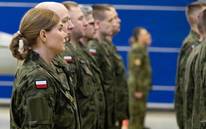 Польские летчики в Эмари.