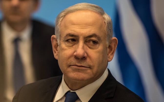 Iisraeli peaminister Benjamin Netanyahu.