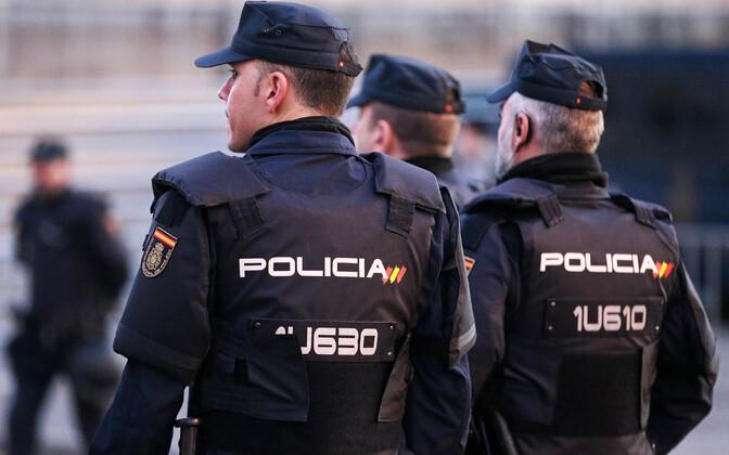 Hispaania politseinikud.