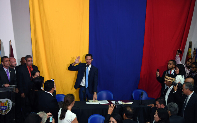 Venezuela poliitik Juan Guaido.