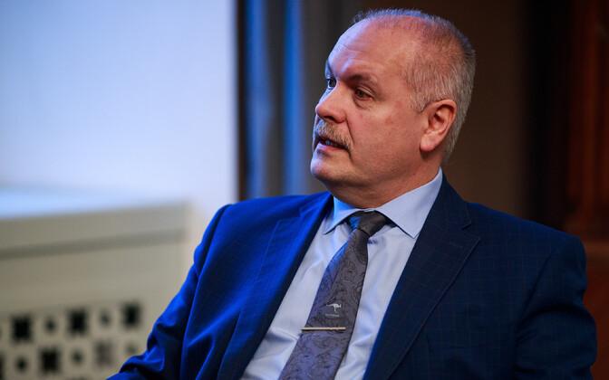 Хенн Пыллуаас занимает должность спикера Рийгикогу с апреля 2019 года.