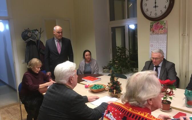 Собрание правления Тартуского округа Центристской партии.