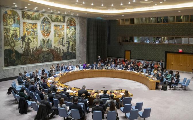 Совет Безопасности ООН соберется 9 января.