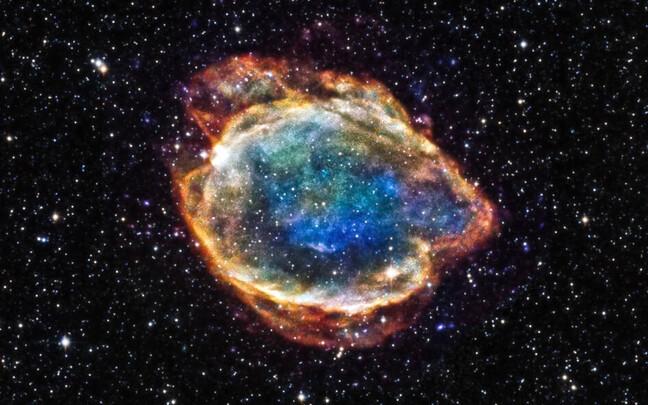 Ia tüüpi supernoova G299.