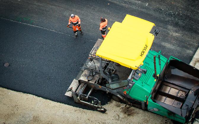 Дорожные рабочие. Иллюстративное фото