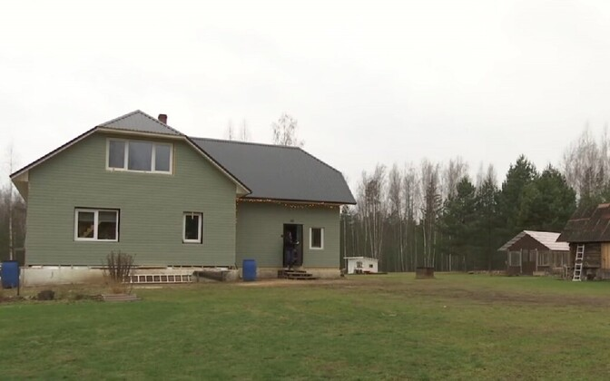 Zetod bassist Jaanus Viskar's family home in Setomaa.