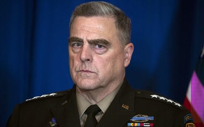 USA staabiülemate ühendkomitee esimees kindral Mark Milley.