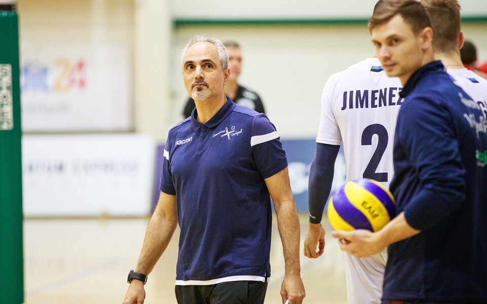 Võrkpalli Eesti-Läti liiga: Tallinna Selver - Saaremaa VK