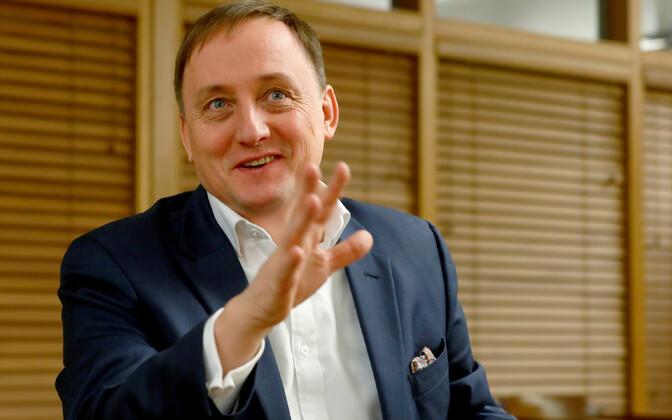 Läti keskpanga juht Martinš Kazaks.