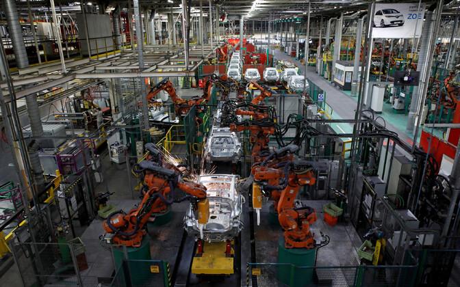 Renault' tehas Pariisi lähistel.