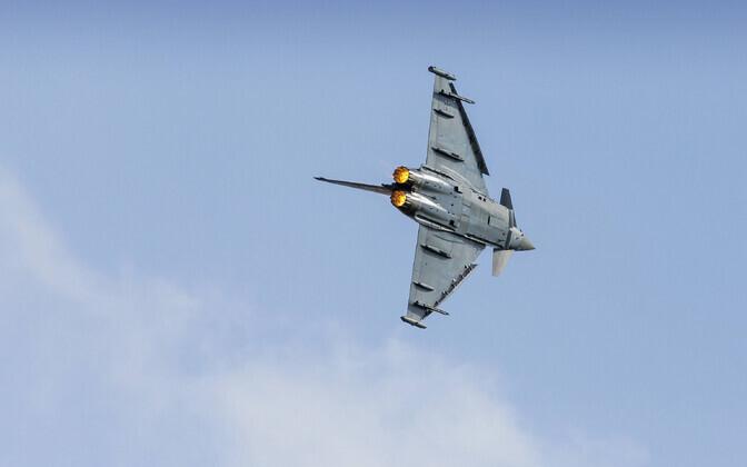 Eurofighter Typhoon Saksa lennuüritusel.