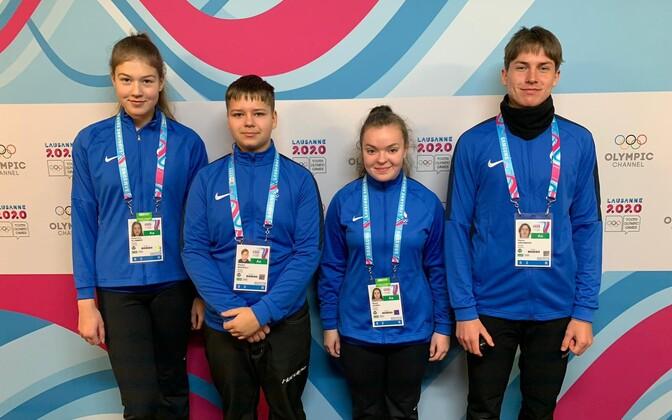 Eesti kurlingumängijad noorte olümpial