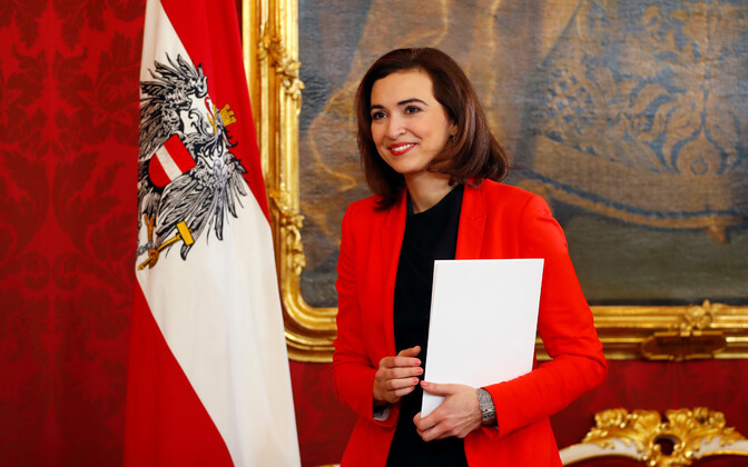 Austria justiitsminister Alma Zadic.