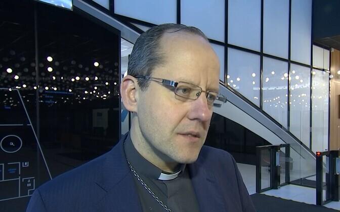 Pastor Ove Sander.