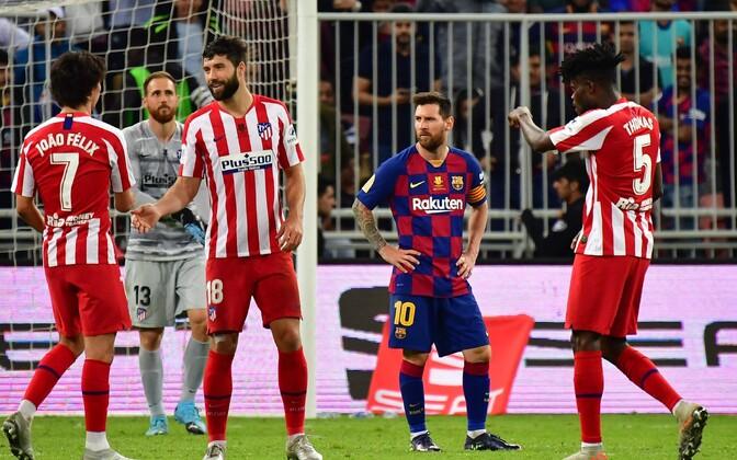 Madridi Atletico - Barcelona