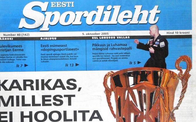 2005. aasta Spordilehe number.