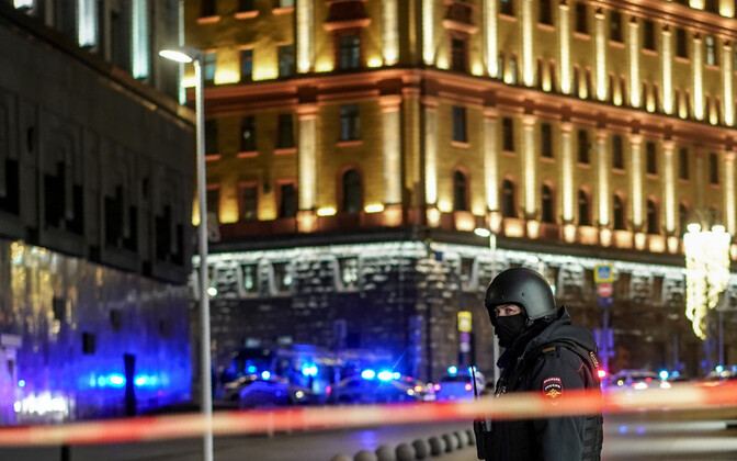 FSB hoone juures 19. detsembril.