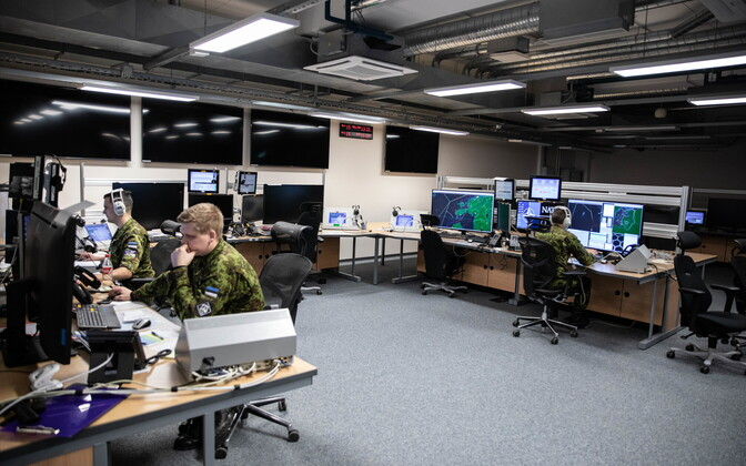 Opening of the Air Operations Control Centre in Tallinn. January 10, 2020.