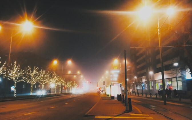 Туман в Таллинне.