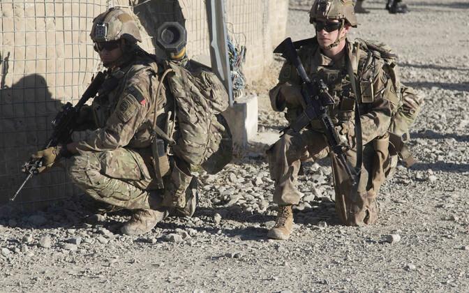 NATO missiooni Resolute Support sõdurid Afganistanis.
